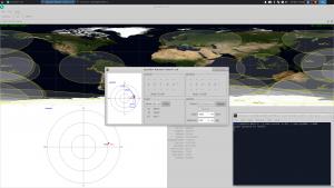 GPredict műholdkövető